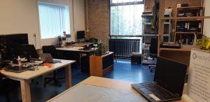 nieuwe kantoor